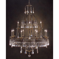 John Richard Augustine 12 Light Chandelier in Hand-Painted AJC-8684