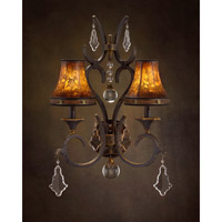John Richard Seville 2 Light Wall Sconce in Hand-Painted AJC-8691