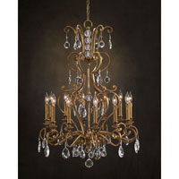 John Richard Syncopation 12 Light Chandelier in Hand-Painted AJC-8692