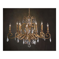 John Richard Syncopation 10 Light Chandelier in Hand-Painted AJC-8693