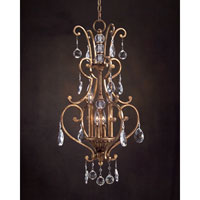 John Richard Syncopation 4 Light Pendant in Hand-Painted AJC-8695