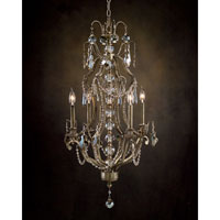 John Richard Alexander John Wilshire Boulevard 4 Light Chandelier in Hand-Painted  AJC-8699