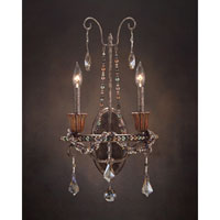John Richard Burbon Street 2 Light Wall Sconce in Hand-Painted AJC-8705