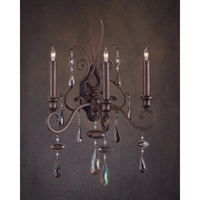 John Richard St Meinrad 3 Light Wall Sconce in Other AJC-8720