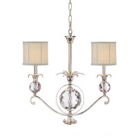 Alexander John 2 Light 25 inch Plated Pendant Ceiling Light