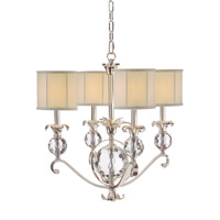 John Richard Alexander John 4 Light Chandelier in Plated AJC-8727