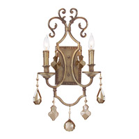 John Richard Alexander John 2 Light Wall Sconce in Hand-Painted AJC-8730