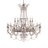 Signature 18 Light 58 inch Arezzo Silver Chandelier Ceiling Light