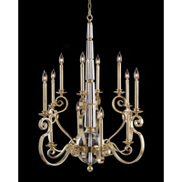 Signature 12 Light 43 inch Silver Verdi Chandelier Ceiling Light
