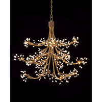 Signature 14 Light 50 inch Antique Gold Chandelier Ceiling Light