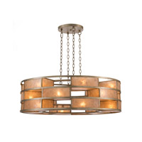 John Richard Mica 18 Light Chandelier in Antique Silver AJC-8798
