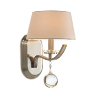 John Richard Curvaceous 1 Light Wall Sconce in Brushed Nickel AJC-8802