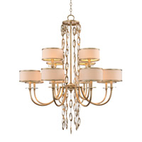 John Richard AJC-8816 Counterpoint 12 Light 42 inch Gold and Cool White Chandelier Ceiling Light