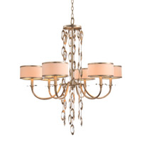 John Richard AJC-8817 Counterpoint 6 Light 35 inch Gold and Cool White Chandelier Ceiling Light