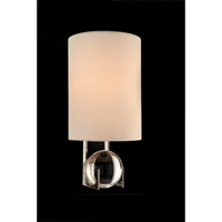 John Richard AJC-8897 Signature 1 Light 10 inch Polished Nickel Wall Sconce Wall Light
