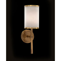 Modern 1 Light 6 inch Coffee Bronze Plated Wall Sconce Wall Light