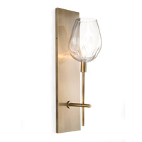 Signature 1 Light 6 inch Brass Wall Sconce Wall Light