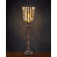 John Richard Alexander John 1 Light Accent Lamp in Antique Brass AJL-0096