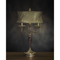 John Richard Portable 1 Light Table Lamp in Antique Gold AJL-0222