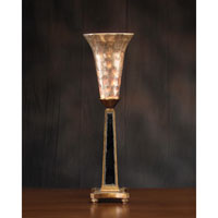 John Richard Alexander John 1 Light Buffet Lamp in Glass Capiz AJL-0235
