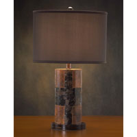 Portable 26 inch 150 watt Charcoal Brown Table Lamp Portable Light