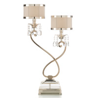 John Richard Alexander John 1 Light Buffet Lamp in Silver AJL-0319