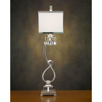 John Richard Alexander John 1 Light Buffet Lamp in Silver AJL-0321