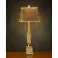 John Richard Portable 1 Light Table Lamp in Tan In Tan AJL-0335