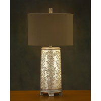 John Richard Portable 1 Light Table Lamp in Sepia Brown AJL-0340
