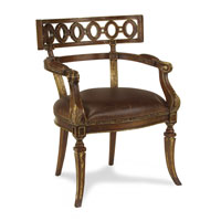 John Richard Upholstered Furniture Chair in Antique Gilded Walnut  AMF-05-1087V11-DSBR