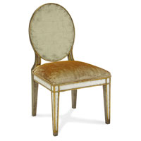 John Richard Upholstered Furniture Chair in Gilded Pewter  AMF-05-1113V10-FNCD