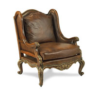 John Richard Upholstered Furniture Chair in Antique Gilded Walnut  AMF-05-1129V11-DSBR