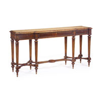 John Richard EUR-02-0034 John Richard Furniture 68 X 18 inch Medium Wood Console Table Home Decor photo thumbnail
