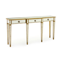John Richard EUR-02-0050 John Richard Furniture 70 X 15 inch Eglomise Console Table Home Decor photo thumbnail