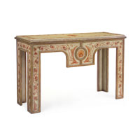 John Richard John Richard Furniture Console Table in Hand-Painted EUR-02-0058