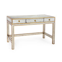 John Richard Furniture 47 X 24 inch Eglomise Desk Home Decor