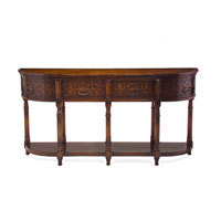 John Richard John Richard Furniture Console Table in Dark Wood EUR-02-0080