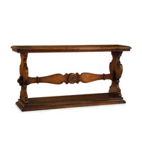 John Richard John Richard Furniture Console Table in Medium Wood EUR-02-0094