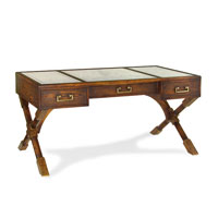 John Richard Furniture 62 X 34 inch Eglomise Desk Home Decor