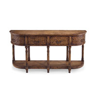 John Richard John Richard Furniture Console Table in Light Wood EUR-02-0124