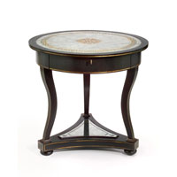 John Richard EUR-03-0063 John Richard Furniture 28 X 28 inch Eglomise Side Table Home Decor