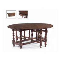 John Richard John Richard Furniture Dining Table in Medium Wood EUR-03-0123