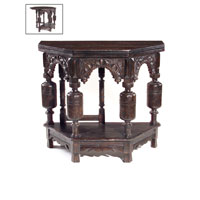 John Richard John Richard Furniture Occasional Table in Dark Wood EUR-03-0129