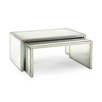 John Richard John Richard Furniture Cocktail Table in Eglomise EUR-03-0220