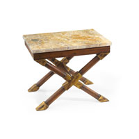 John Richard John Richard Furniture Side Table in Medium Wood EUR-03-0228