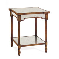 John Richard Furniture 22 X 22 inch Eglomise Side Table Home Decor