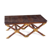 John Richard John Richard Furniture Cocktail Table in Medium Wood EUR-03-0249