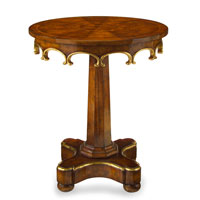 John Richard John Richard Furniture Side Table in Medium Wood EUR-03-0275