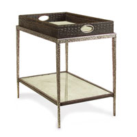 John Richard Crocodile and Mirror Cocktail Table in Eglomise EUR-03-0285