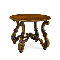 John Richard Delchamps Side Table in Hand-Painted EUR-03-0289